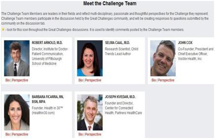 TEDMED Challenge of Health and Medicine – Improving Medical ...