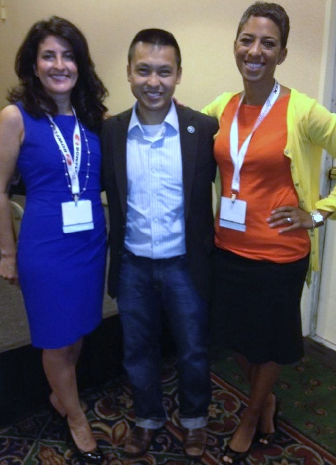 BlogHer Health Minder's Day Barbara Ficarra Shwen Gwee and Dr. Kimberly ...