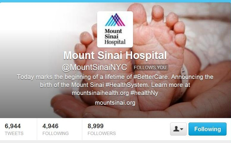 Twitter Chat The Great American Smokeout Mount Sinai NYC for Healthin30 Post