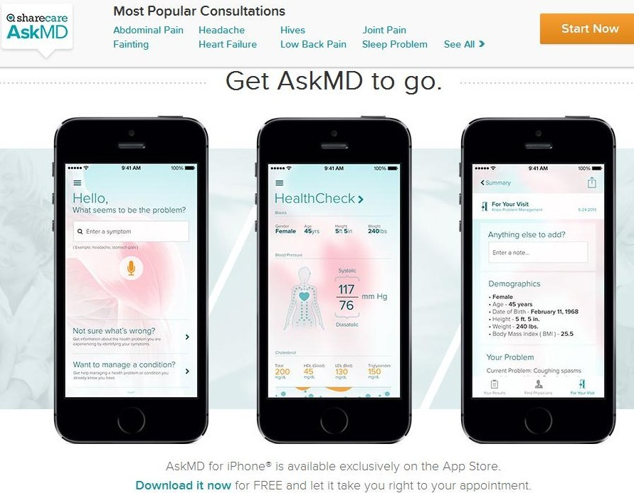 AskMD Image Sharecare for Post Healthin30