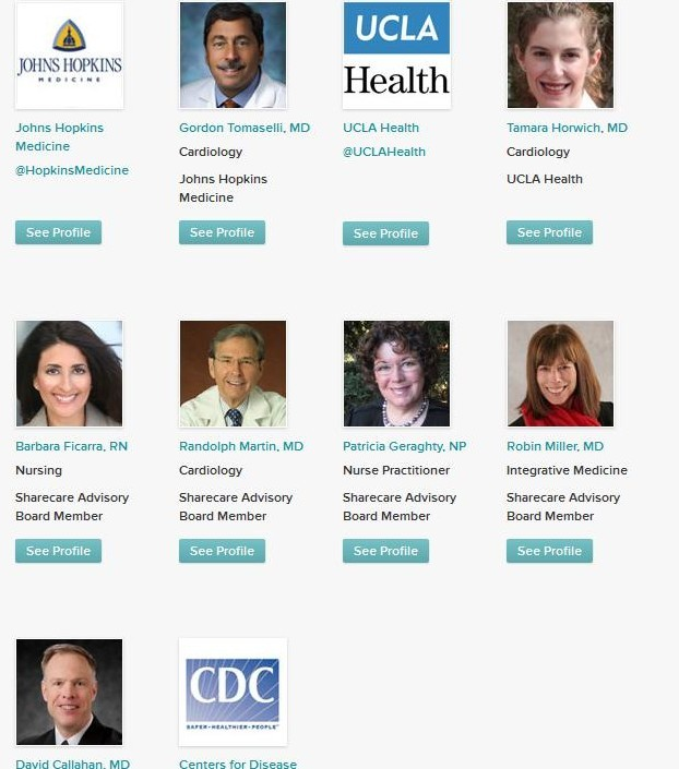 Twitter Chat Sharecare and American Heart Experts 2 Healthin30 Barbara Ficarra